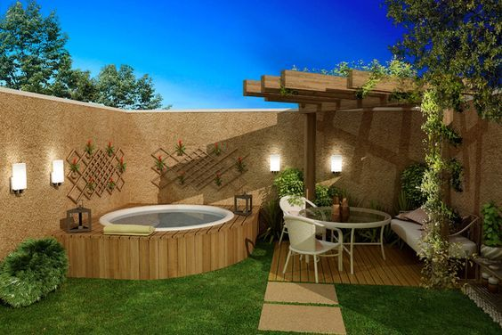 770 best images about vacation home ideas on pinterest - Jardines para casas pequenas ...