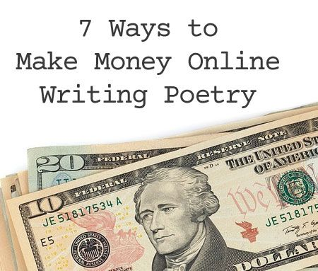 online poem writing Do you have some ideas for ways poets can make money online writing poetry share your thoughts in the comments section below advertisement.