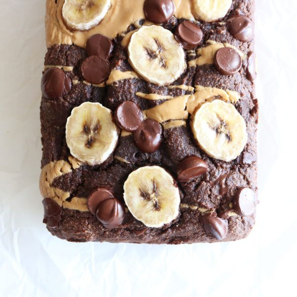 The best double chocolate banana bread recipe you'll ever need! Made with almond flour, it's gluten free, dairy free, and paleo! Grab the milk and enjoy the chocolatey goodness!!
