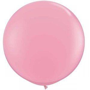 Büyük balon, jumbo balon, pembe balon, doğum günü partisi, parti malzemeleri, doğum günü süslemeleri, doğum günü kutlaması,