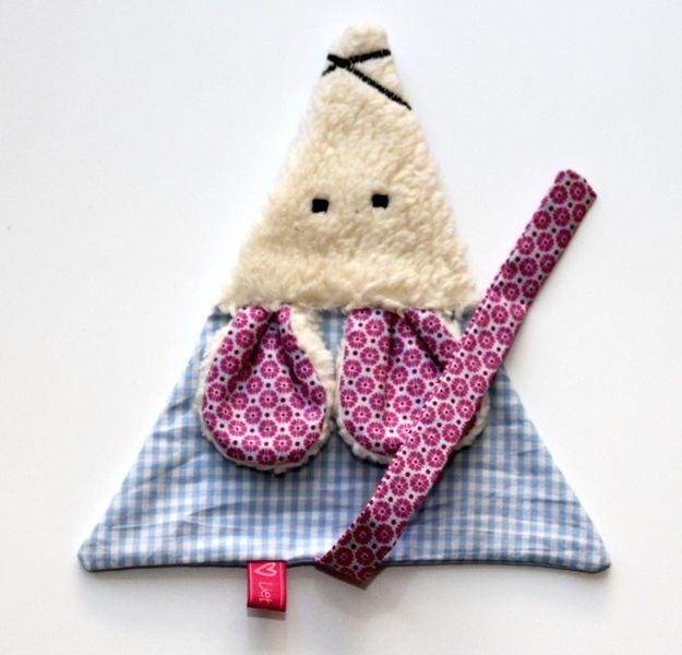 kann man auch als Knistermaus nähen Bernd die Maus von LiebensWert auf DaWanda.com