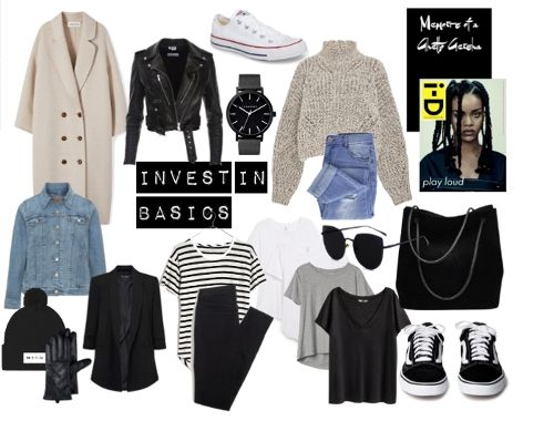 """This is why you """"have nothing to wear""""      basics, closet, wardrobe"""