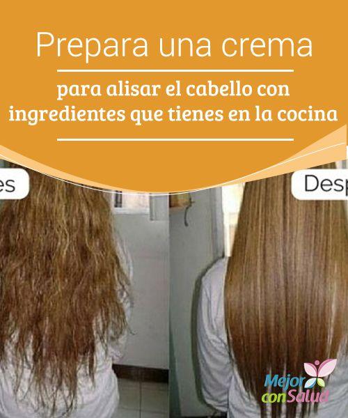 Prepara una crema para #alisar el #cabello con ingredientes que tienes en la #cocina Te compartimos la receta de una crema casera para alisar el cabello sin causarle #agresiones. ¡No dejes de probarla! #Belleza