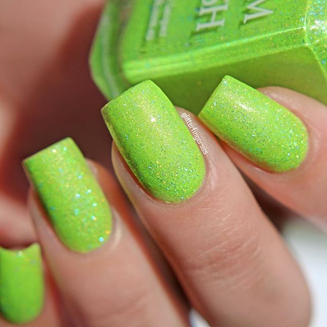 25 best ideas about lime green nails on pinterest