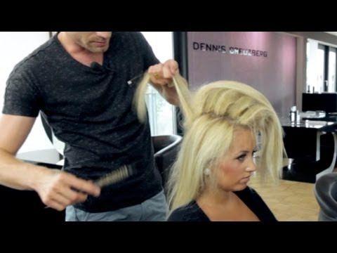 Hair Tutorial: Hochsteckfrisur selber machen - Haare stylen mit #Dennis Teil 1 - YouTube