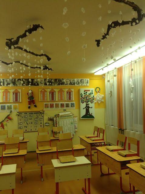 Karácsonyi teremdíszítés - Christmas classroom decor
