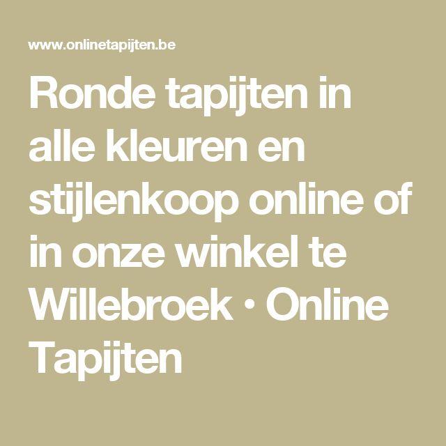 17 beste idee u00ebn over Ronde Vloerkleden op Pinterest   Tapijten, Ronde karpetten en Boheems tapijt