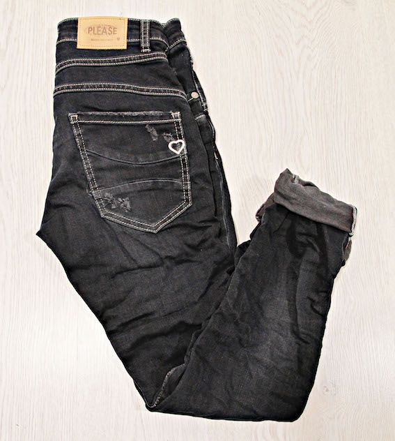 Please Jeans Classic Dark Blue via www.jenterommet.no