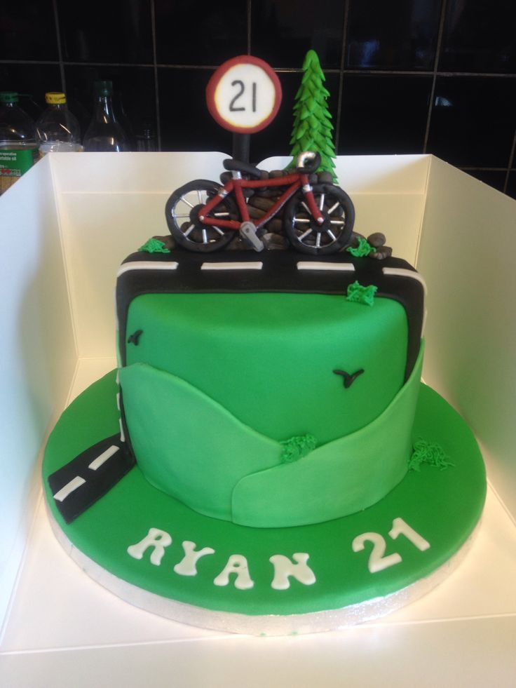 17 Best Cycling Cake Images On Pinterest Bicycle Cake