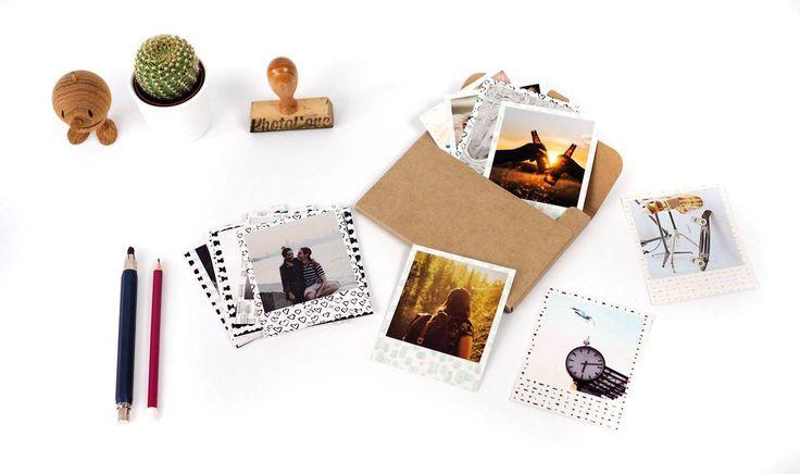 Handy Bilder entwickeln lassen - wir drucken auf Vintage Photo Papier