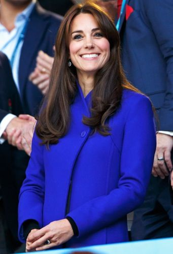 Go team! Kate Middleton attended the Rugby World Cup on Sept. 18.