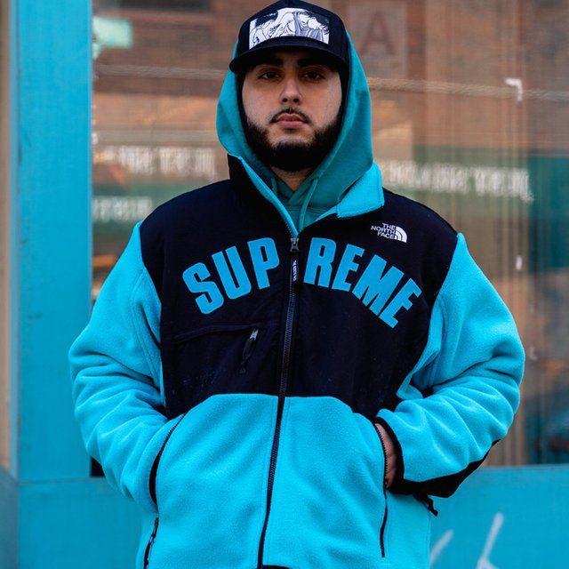 félig több kép még egy esély Supreme x The North Face Arc Logo Denali Fleece   Snow skiing ...