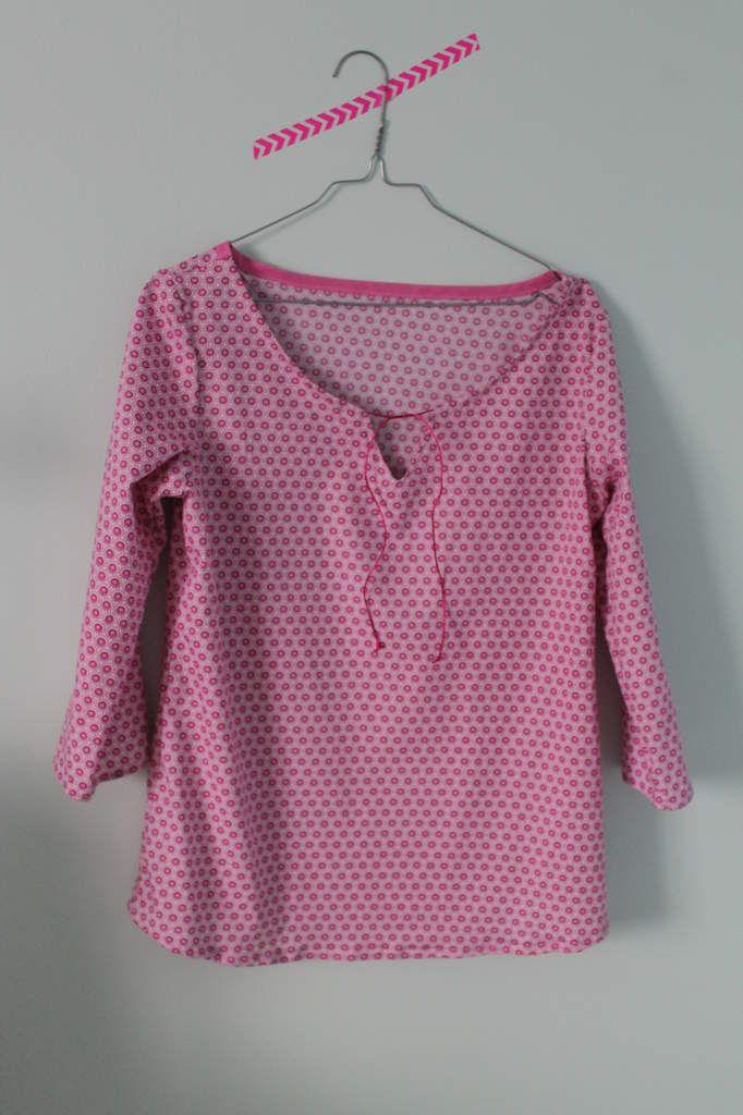 La blouse Romantique issu d'un patron mlm patrons