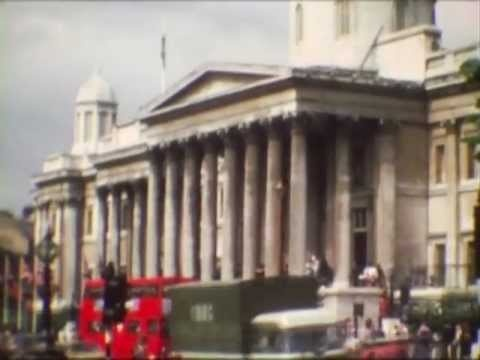 Travel in London - Viaggio a Londra 1976 - Marcello Franca Video Archive