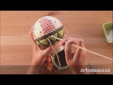 Manualidades Van Gogh   Viejito pascuero en globo aerostático - YouTube