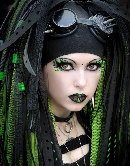 Awesome Cyber Goth