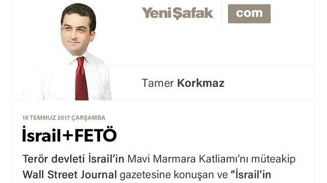 """..""""Erbakan Filistin davasını sahiplenirken,bizlere evinizde hatta yatak odalarınızda bile İsrail hakkında menfi konuşmayın diye telkinde bulunuyorlardı!""""Hayati Küçük'ün şu sözleri de FETÖ'nün İsrail'in ne denli kontrolünde olduğunu göstermesi bakımından ibretliktir:""""Türkiye'de İsrail'e ters düşen herkese biz düşman olduk. İsrail'in istemediğini biz de istemiyorduk. Paralel yapının şakirt dediği tüm subaylar eğitim için İsrail'e gidiyordu.ABD'de Gülen enstitülerini hep Yahudiler kurdu!"""""""