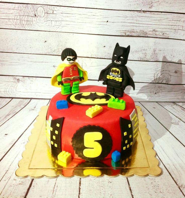 Lego batman&robin cake