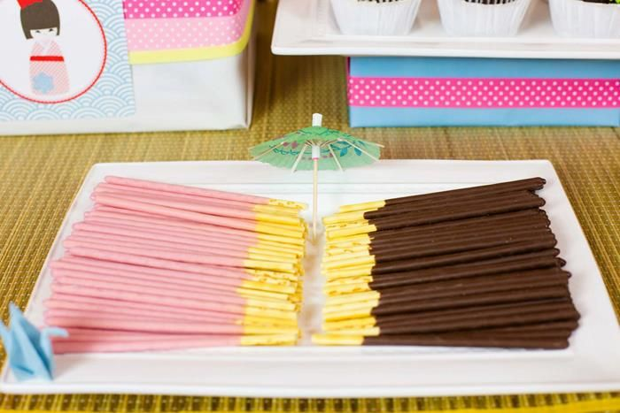 Japanese Party Ideas | ... Ideas via Kara's Party Ideas KarasPartyIdeas.com #Japan #Party #Ideas