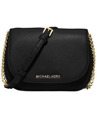 MICHAEL Michael Kors Bedford Small Crossbody Saddle Bag - Designer Handbags - Handbags & Accessories - Macy's