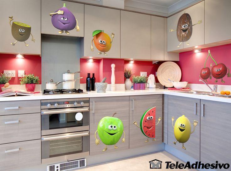 Adesivi per Bambini Frutta