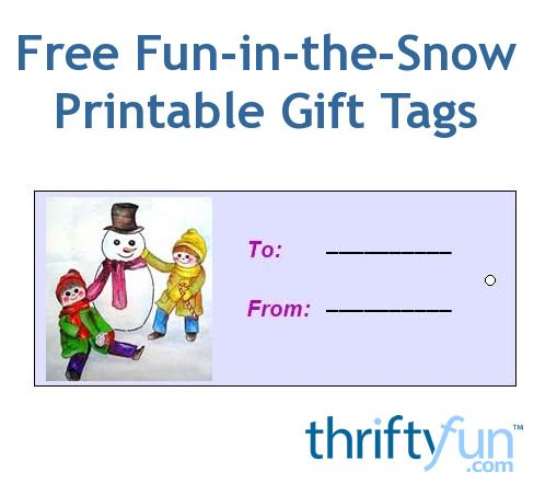 Here is a printable page full of free Christmas gift tags for you!