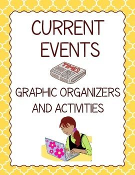 These 12 graphic organizers and 4 activities can be used in Social Studies and ELA too.  Differentiated organizers for American and Canadian students.