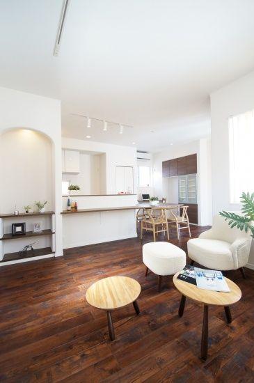 アートギャラリーハウス (ハスカーサ(HaScasa))|ガレージのある家_タグ|建築実例|埼玉・千葉・東京の注文住宅・建て替えならポラス(POLUS)の注文住宅