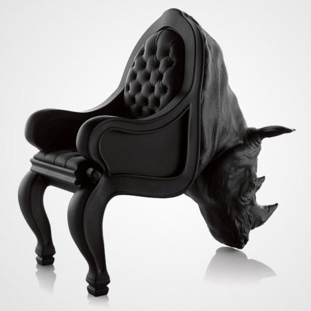 Az Animal Chair Collection, azaz az Állati Székkollekció