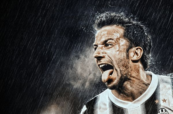 Alex Del Piero by Gianfranco Gallo, via Behance