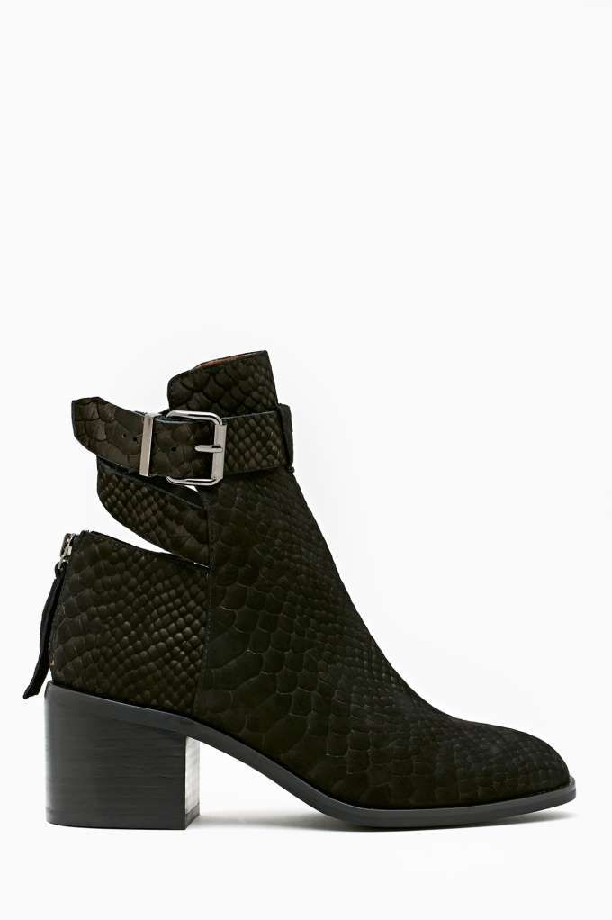 Donner Buckled Boot in Shoes Boots at Nasty Gal