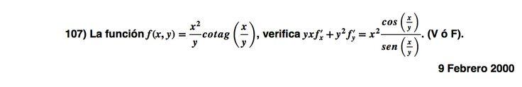 Ejercicio 107. Ejercicio propuesto en el Examen de Matemática 1 de ADE, ULL el  9 Enero 2000. Si quieres su solución, por 1 euro, solicítala por WhatsApp 667824244, acepto PayPal, Twyp, bitcoin (otra opción consultar) Servicio en prueba.