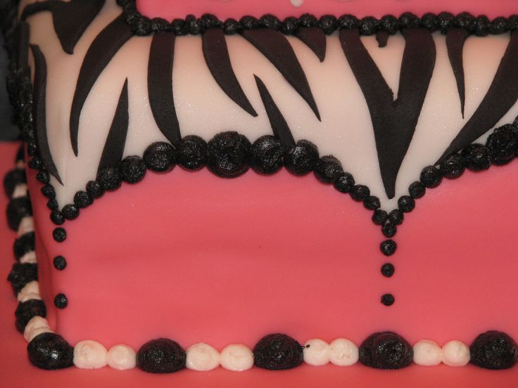 Hot Cakes   Blog Archive   Hot Pink & Zebra Cake ( Cake ...