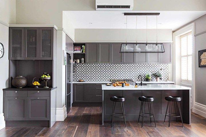 Seven stunning non-white kitchens | Home Beautiful Magazine Australia