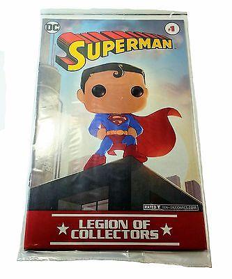 RARE & NEW DC Comics Legion Of Collectors Exclusive Superman #1 Adam Archer