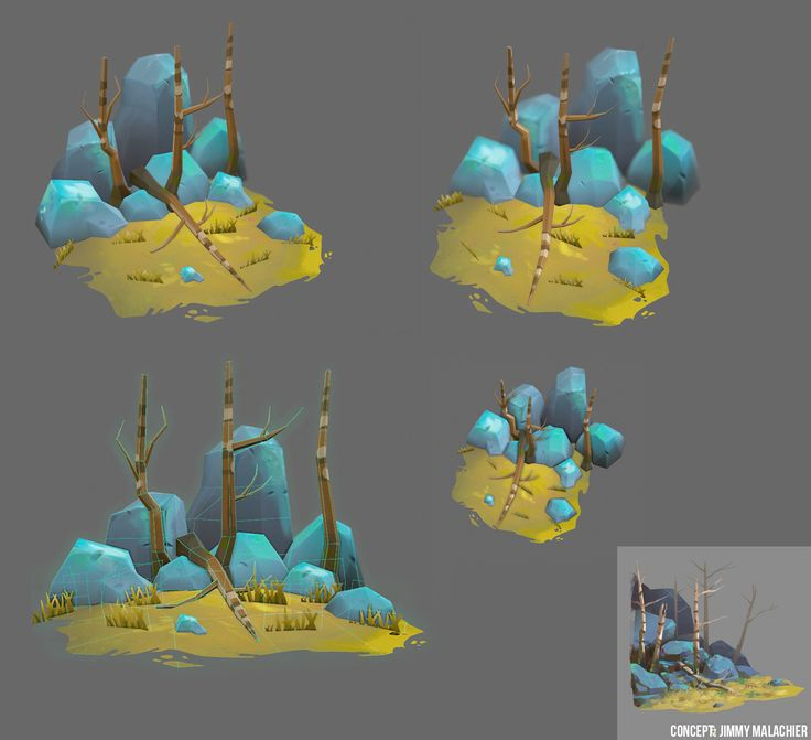 ArtStation - Mini Environments, Emma Smith