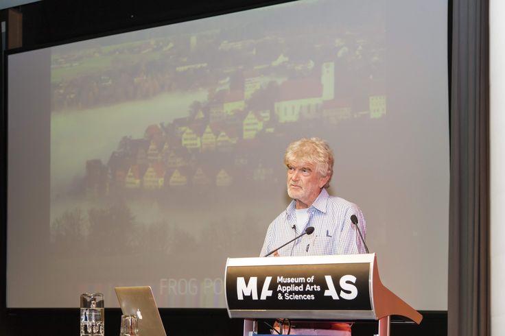 Hartmut Esslinger presents at MAAS