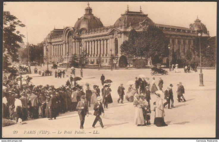Le Petit Palais, Paris, c.1905 - Lévy CPA LL29