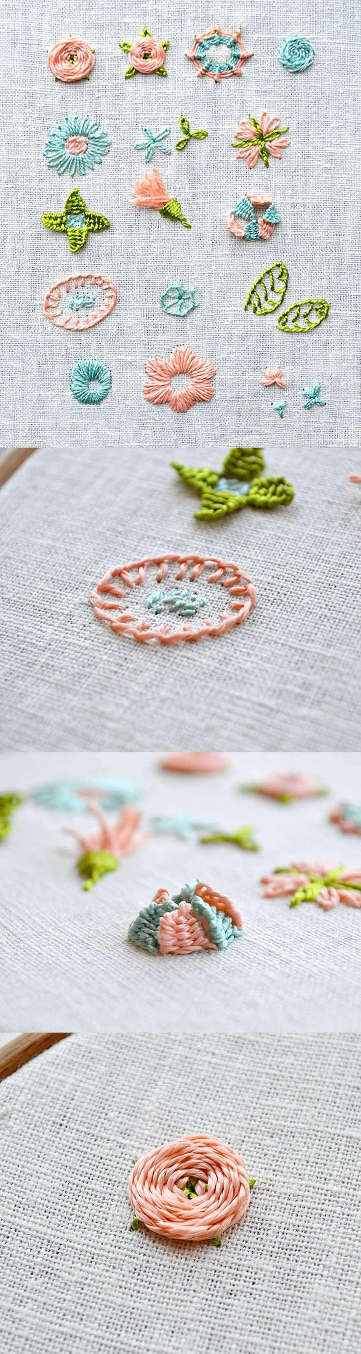 Master-class on embroidery of a small picture with beads will help to master this technique of needlework