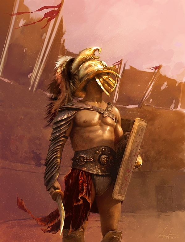 Fate/Apocrypha - Berserker of Red SPARTACUS   Spartacus either was an auxiliary from the Roman legions later condemned to slavery, or a captive taken by the legions.[9] Spartacus was trained at the gladiatorial school (ludus) near Capua belonging to Lentulus Batiatus. In 73 DC, Spartacus was among a group of gladiators plotting an escape