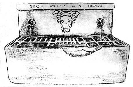 Fontane di Roma: Fontana della Chiavica del bufalo