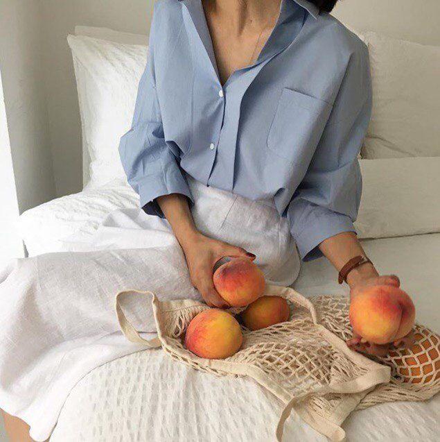 pinterest // @reflxctor peach morning