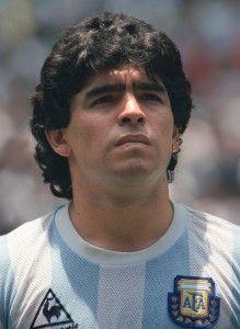 """La última """"genialidad"""" de Maradona con la selección argentina de la mano de Paco Suárez. http://cincuentopia.com/la-ultima-genialidad-de-maradona-con-la-seleccion-argentina/"""