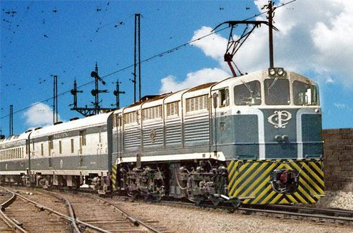 Companhia Paulista de Estradas de Ferro (São Paulo´s State, Brazil), circa 1968.