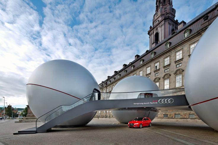 Audi - Cross-Over-Event Kopenhagen 2012 | Schmidhuber | Exhibition Design