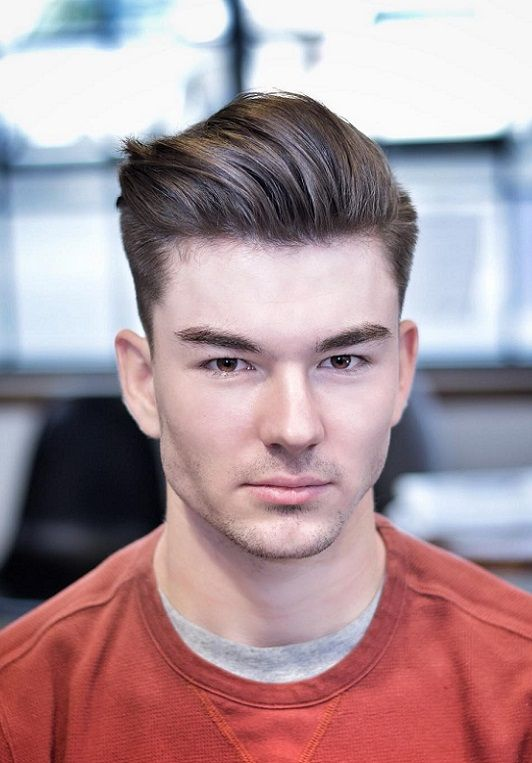 30 Combed Back Hairstyles for boys 2018