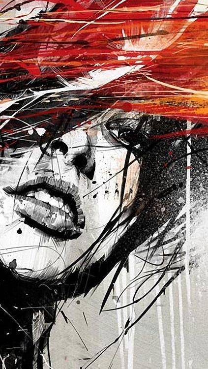 Beautiful girl - iPhone 5 wallpaper #Iphone youtube.com.ogyso...   Abstract  423...