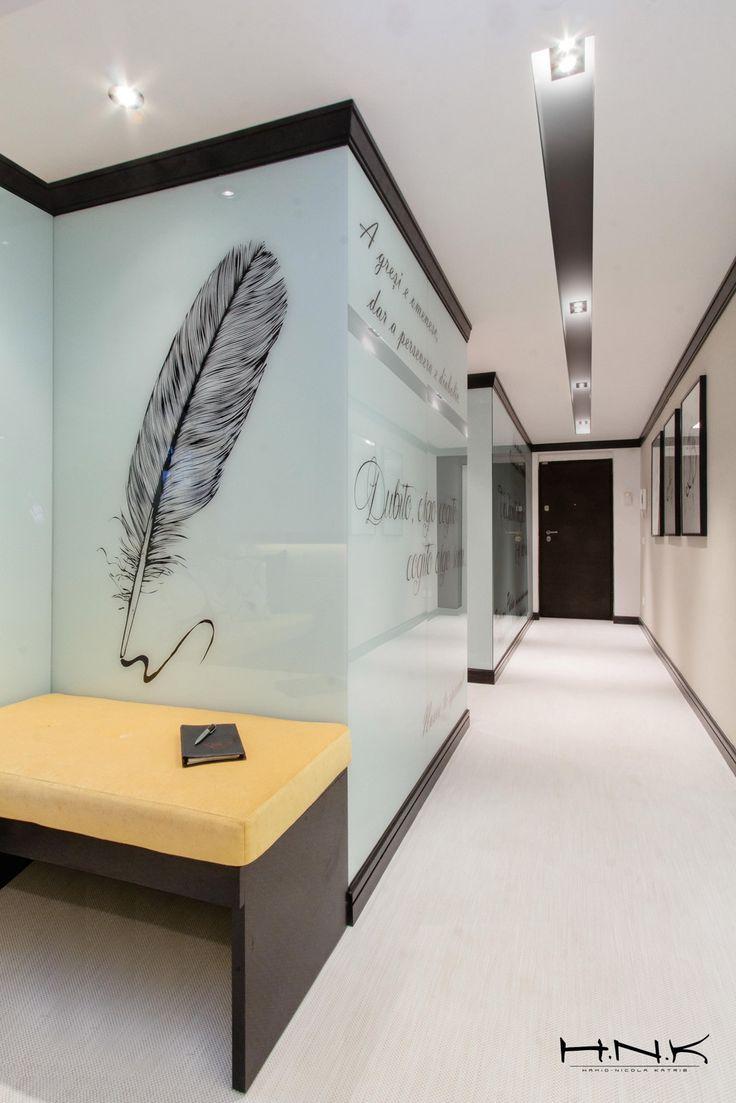 The beauty of writing set in visual artwork @ notary office | by Hamid Nicola Katrib