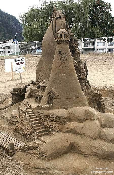 Other than a mermaid or a sea monster, what else would you want to sculpt at a sand castle competition?