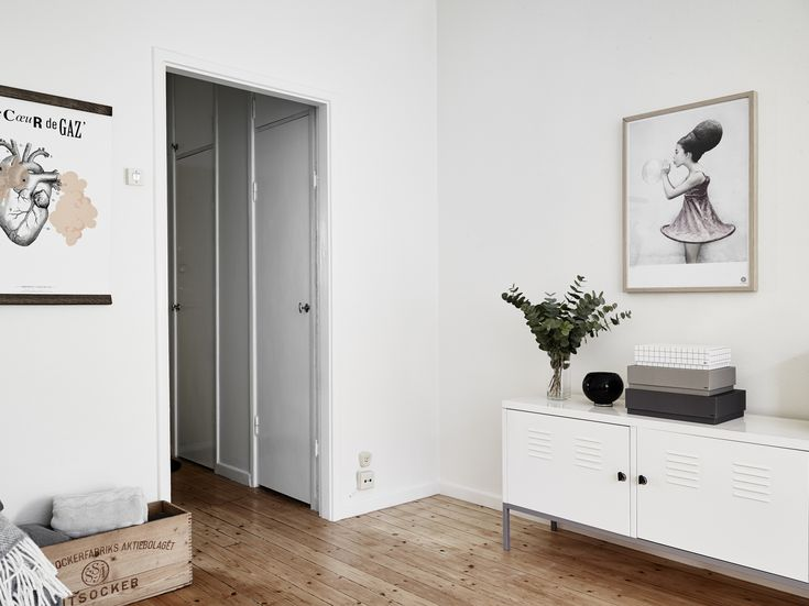 styled living room in gothenburg lovely that industrial media cabinet from ikea is